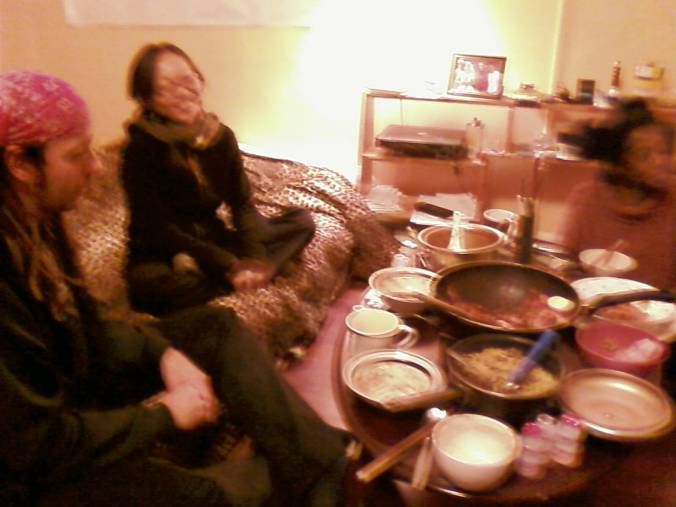 Intimate Dinner in Kwanwoo's Apartment