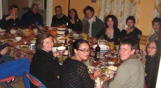 New Years Eve Potluck Dinner organized by Yuki