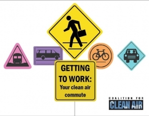 Getting to work: Your clean air commute