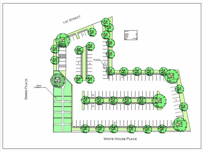 Proposed Parking with Garden