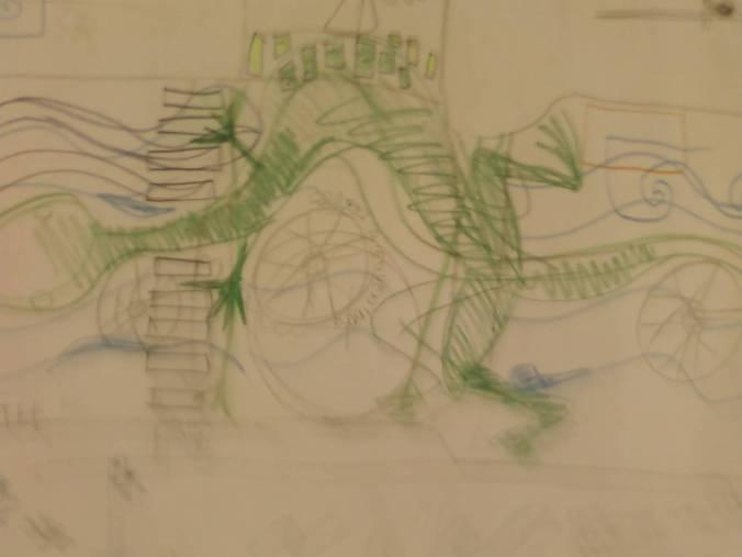 Initial Salamander Sketch