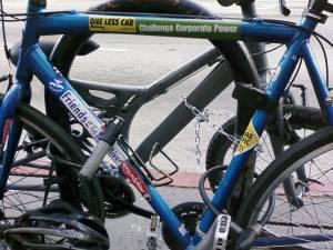 My bike locked properly