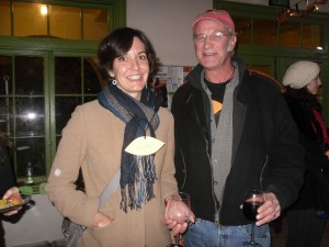 Arroyo-Seco Network of Time Banks co-founder Autumn Rooney and Santa Barbara Time Bank activist Jonny Sacko